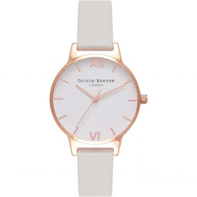 Montre Femme Olivia Burton Vegan Friendly Rose Gold & Grey OB16MDV02