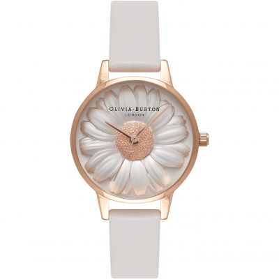 Olivia Burton Vegan Friendly Vegan Friendly Rose Gold & Grey Damenuhr in Grau OB16VE01