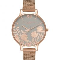 Ladies Olivia Burton Lace Detail Watch OB16MV65