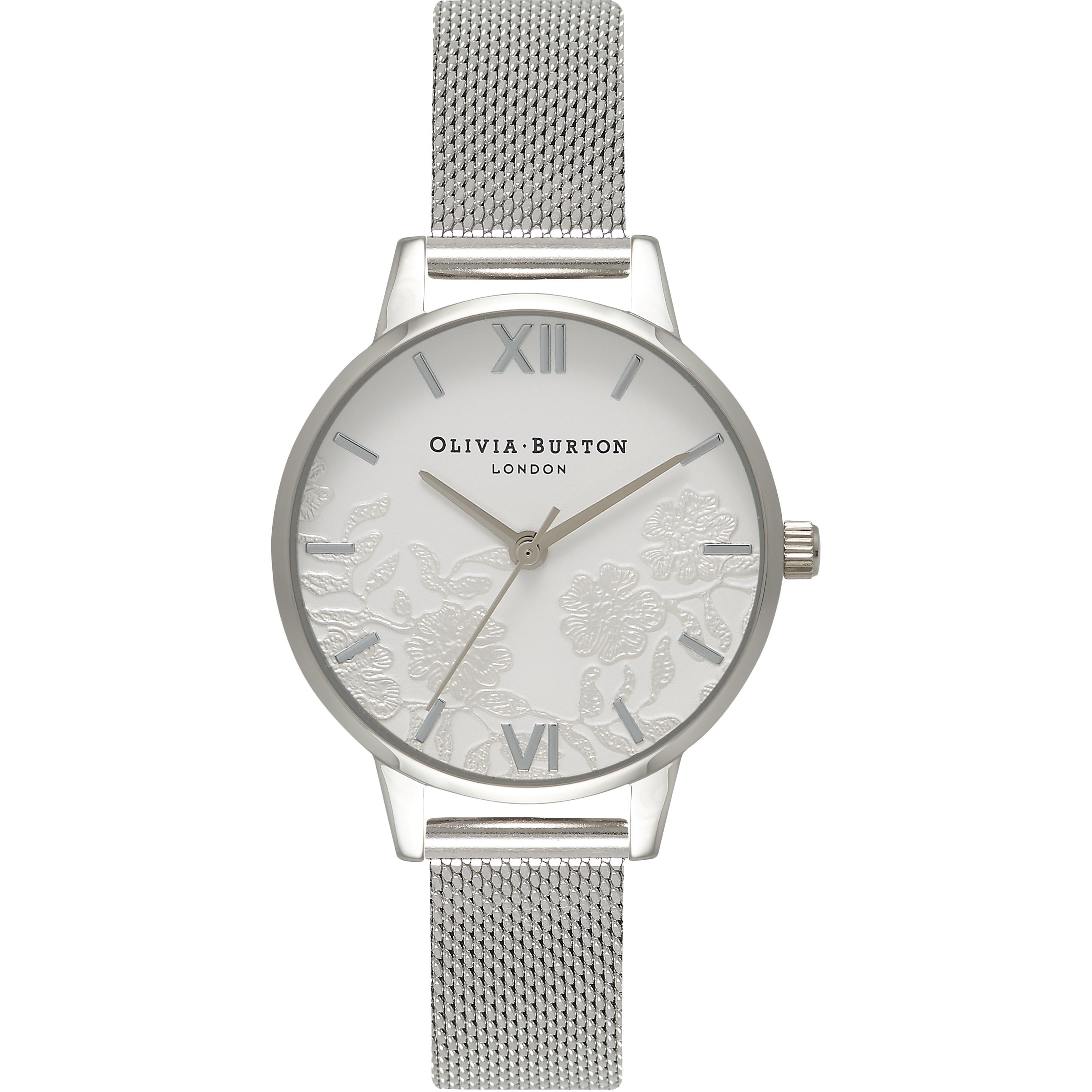 3283165cb Ladies Olivia Burton Lace Detail Watch (OB16MV54) | WatchShop.com™
