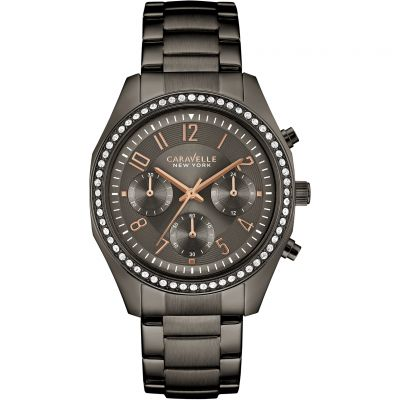 Ladies Caravelle New York Melissa Chronograph Watch 45L161