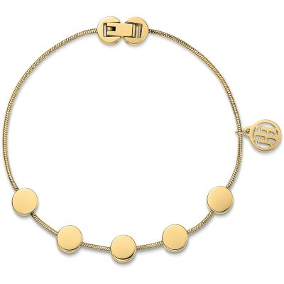 Ladies Tommy Hilfiger Gold Plated Classic Signature Bracelet 2700980