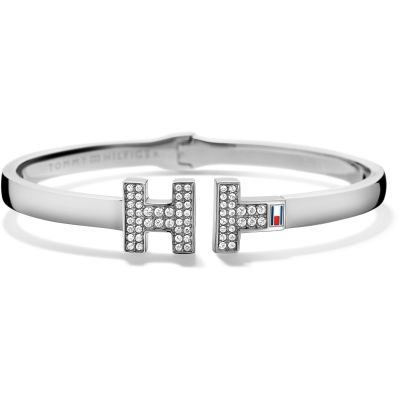 Tommy Hilfiger Dames Classic Signature Bangle Roestvrijstaal 2700983