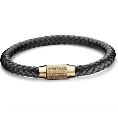 Mens Tommy Hilfiger Gold Plated Casual Core Bracelet 2700999