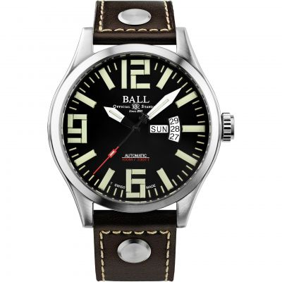Ball Engineer Master II Aviator Herenhorloge Bruin NM1080C-L14A-BK