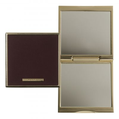 Hugo Boss Pens Gold Plated Mirror Essential Burgundy HAG707R