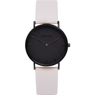 Ladies Votch The Light Grey and Black 38mm Watch VOT0004