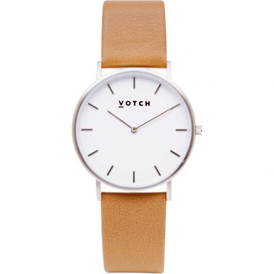 Ladies Votch The Tan and Silver 38mm Watch VOT0006