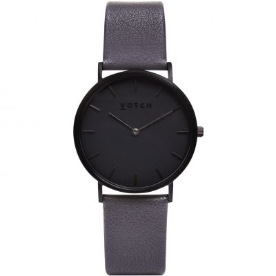 Ladies Votch The Dark Grey and Black 38mm Watch VOT0010