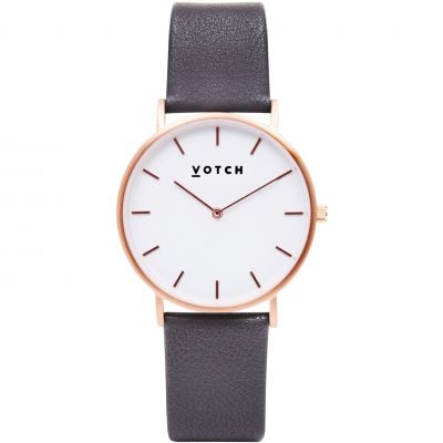 Ladies Votch The Dark Grey and Rose Gold 38mm Watch VOT0011