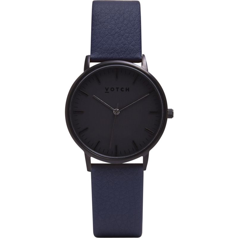 Ladies Votch The All Black And Navy 36mm Watch