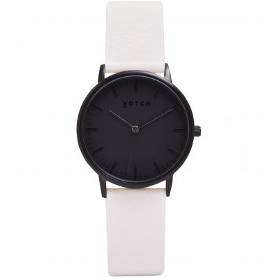 Zegarek damski Votch The All Black And Off White 36mm VOT0020