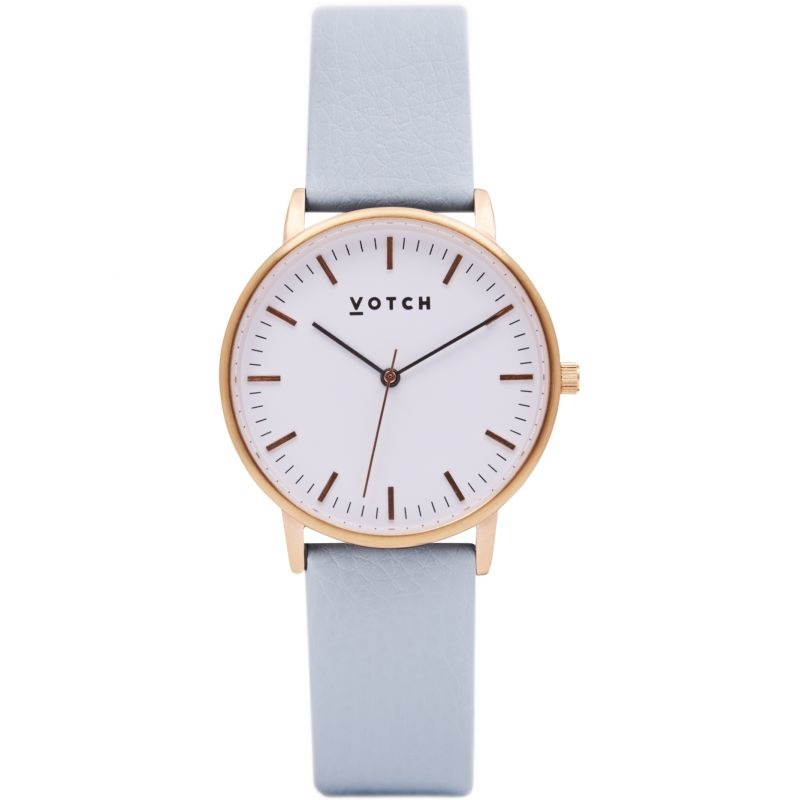 Ladies Votch The Rose Gold And Light Blue 36mm Watch