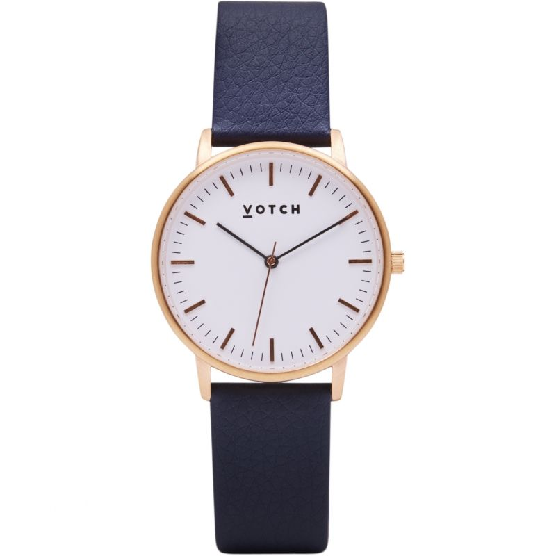 Ladies Votch The Rose Gold And Navy 36mm Watch