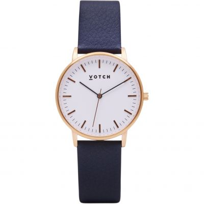 Ladies Votch The Rose Gold And Navy 36mm Watch VOT0025