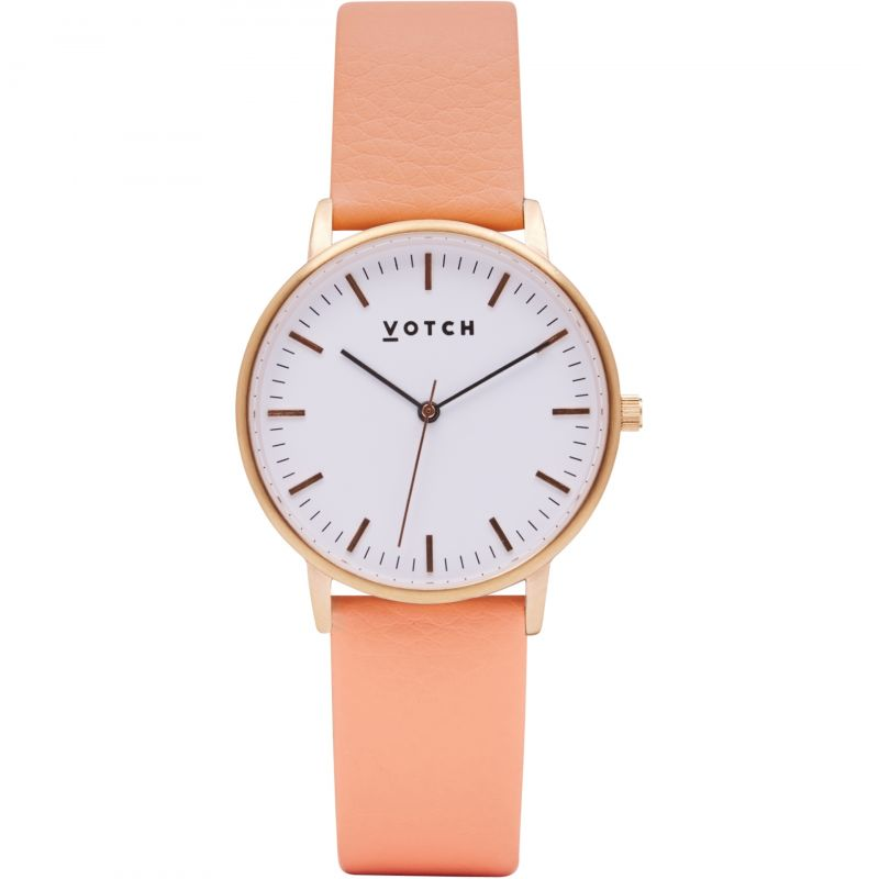 Ladies Votch The Rose Gold And Coral 36mm Watch