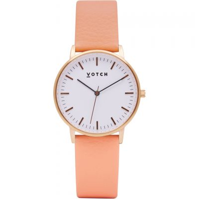 Ladies Votch The Rose Gold And Coral 36mm Watch VOT0026