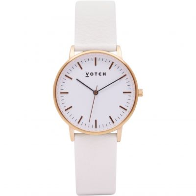 Ladies Votch The Rose Gold And Off White 36mm Watch VOT0027