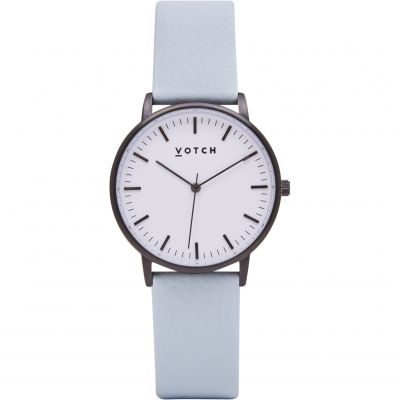 Ladies Votch The Black And White And Light Blue 36mm Watch VOT0030