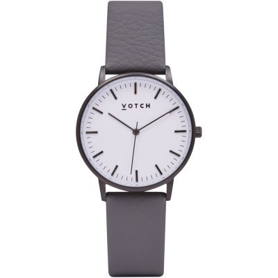 Ladies Votch The Black And White And Slate Grey 36mm Watch VOT0031