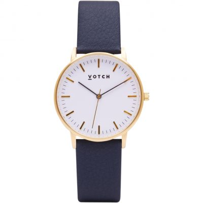 Zegarek damski Votch The Gold And Navy 36mm VOT0039