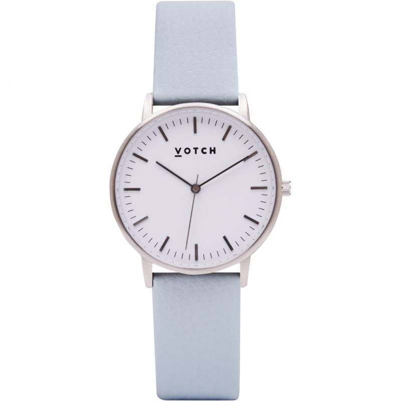 Ladies Votch The Silver And Light Blue 36mm Watch
