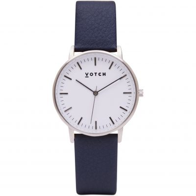 Zegarek damski Votch The Silver And Navy 36mm VOT0046