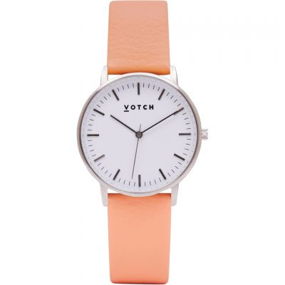 Ladies Votch The Silver And Coral 36mm Watch VOT0047
