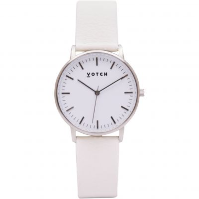 Ladies Votch The Silver And Off White 36mm Watch VOT0048