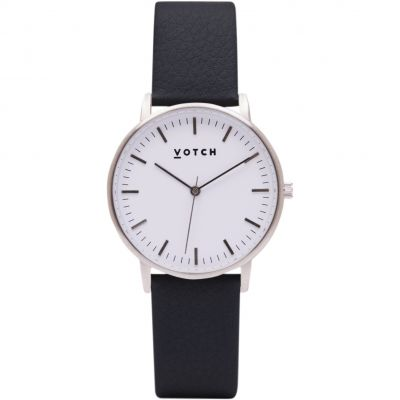 Ladies Votch The Silver And Black 36mm Watch VOT0049