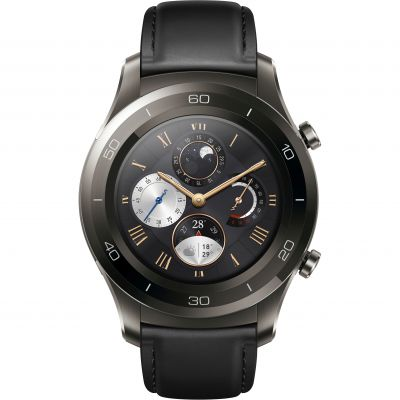 Unisex Huawei Watch 2 Classic Bluetooth Smartwatch for Android and iOS Titanium Watch 120142