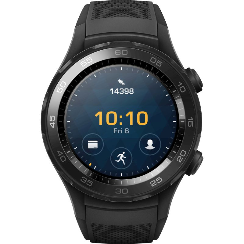 Unisex Huawei Watch 2 Bluetooth Sport Smartwatch for Android and iOS Alarm Watch