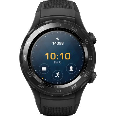 Huawei Watch 2 Bluetooth Sport Smartwatch for Android and iOS Unisexklocka Svart 120140