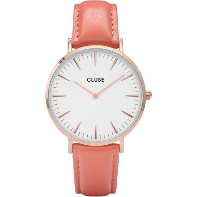 Ladies Cluse La Boheme Limited Edition Flamingo Pink Watch CL18032