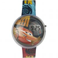 Childrens Character Disney Cars 3 Lightning McQueen Bubble LCD Watch DC315
