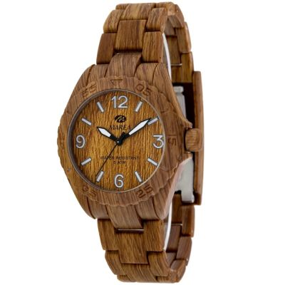 Ladies Marea Wood Look Watch 35297/5