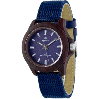 Ladies Marea Wood Look Watch B41193/7