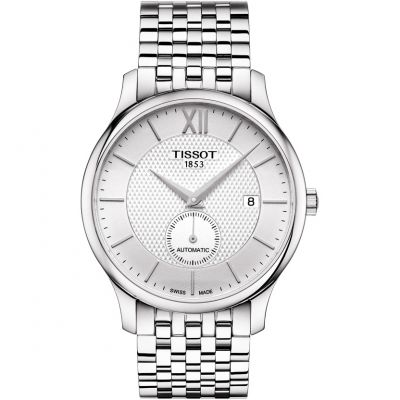 Tissot Tradition Herenhorloge Zilver T0634281103800