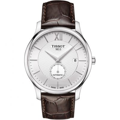 Tissot Tradition Herrenuhr in Braun T0634281603800