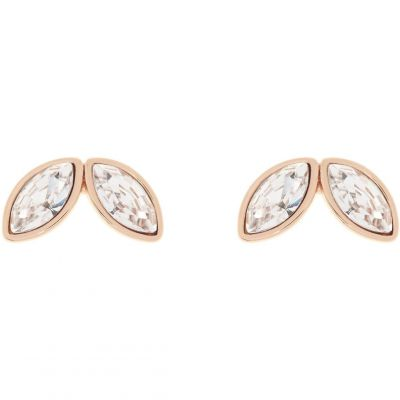Ladies Ted Baker Rose Gold Plated Genii Geometric Bee Stud Earring TBJ1625-24-16