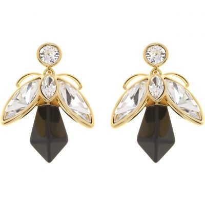 Ladies Ted Baker Gold Plated Geenn Geometric Bee Earring TBJ1622-02-125