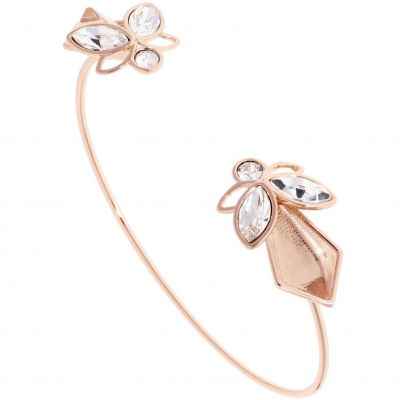 Ladies Ted Baker Rose Gold Plated Gemiaa Geometric Bee Bangle TBJ1620-24-02