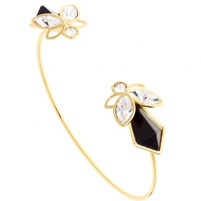 Ted Baker Dam Gemiaa Geometric Bee Bangle Guldpläterad TBJ1620-02-125