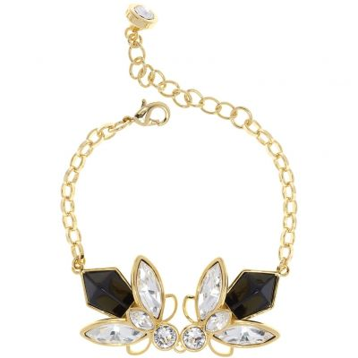 Ladies Ted Baker Gold Plated Genfer Geometric Bee Bracelet TBJ1619-02-125