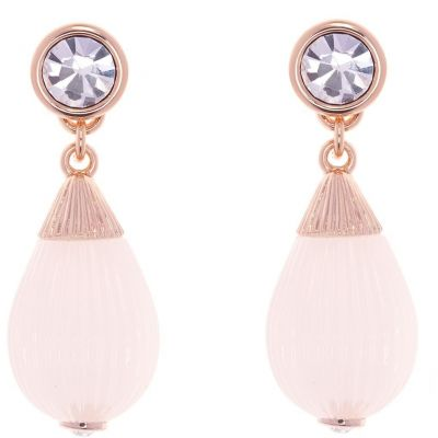 Ladies Ted Baker Rose Gold Plated Parisi Mini Plisse Earring TBJ1616-24-13
