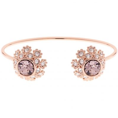 Ladies Ted Baker Rose Gold Plated Seniie Crystal Daisy Lace Bangle TBJ1582-24-16