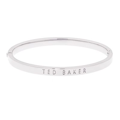 Ted Baker Dames Clemina Hinge Metallic Bangle Verguld Zilver TBJ1568-01-03