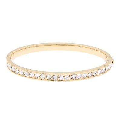 Ted Baker Dames Clemara Hinge Crystal Bangle Verguld goud TBJ1567-02-02