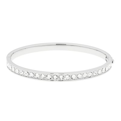 Ted Baker Dames Clemara Hinge Crystal Bangle Verguld Zilver TBJ1567-01-02
