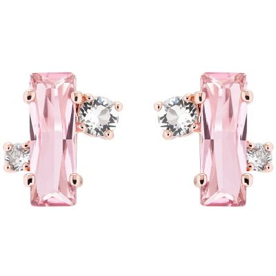 Biżuteria damska Ted Baker Jewellery Bria Crystal Baguette Cluster Stud Earrings TBJ1391-24-07